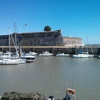 Photo taken at Vieux Port du Chapus by s a. on 9/4/2013