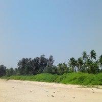 Photo taken at Padubidri Beach by Srinath R. on 5/12/2014
