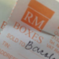 Photo prise au RM Boxes par Boyet B. le10/25/2014