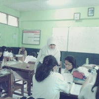 Photo taken at SMA Negeri 16 Bandung by Anggia N. on 5/28/2013