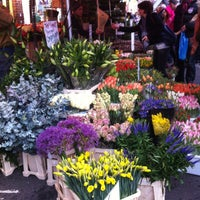 Photo taken at Columbia Road Flower Market by Patrick S. on 2/17/2013