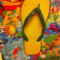 Photo taken at Havaianas by cola h. on 10/30/2012