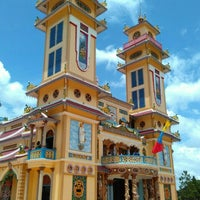 Photo taken at Cao Dai Holy See by Eduard S. on 7/16/2015