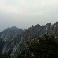 Photo taken at Huangshan Taiping Cable Car by Eduard S. on 1/3/2014