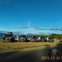 Photo taken at Pantai Kambiow by Eduard S. on 12/31/2015