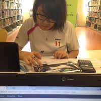 Photo taken at Inti International College Subang Library by XaulLing on 7/1/2014