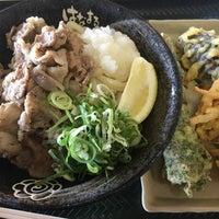 Photo taken at Hanamaru Udon by Sanson on 7/27/2018
