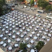 Photo taken at Cumhuriyet Meydanı by Volkan E. on 6/24/2016
