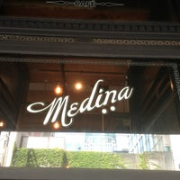 Photo taken at Medina Café by Carlos A. on 7/4/2013