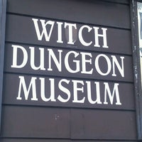 Photo taken at Witch Dungeon Museum by caitlin s. on 2/20/2013