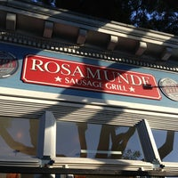Photo taken at Rosamunde Sausage Grill by Ali R. on 5/29/2013