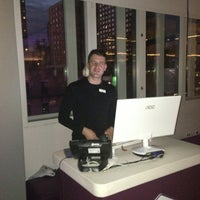 Photo taken at YOTEL New York by Kim D. on 1/19/2013