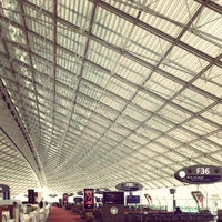 Photo taken at Terminal 2E by Jonathan Z. on 5/8/2013