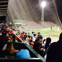 Photo taken at Estadio Kenny Serracín by Mauro L. on 4/23/2014