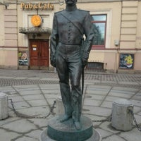 Photo taken at Памятник Городовому by Yauheni A. on 2/18/2017