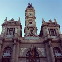 Photo taken at Ajuntament de València by Jorge E A. on 1/6/2013