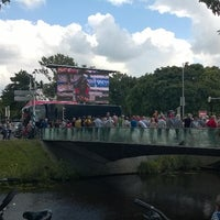 Photo taken at eneco tour Breda - Tijdrit by Ronny d. on 8/13/2014