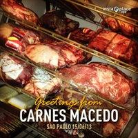 Photo taken at Casa de Carnes Macedo by Leandro B. on 6/15/2013