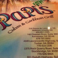 Photo taken at Papi's Cuban Rest & Caribbean Grill by Katrina C. on 6/11/2013