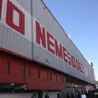 Foto tomada en Estadio Nemesio Diez por Cristian M. el 1/27/2013