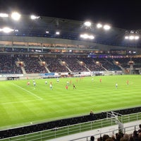 Photo taken at Ghelamco Arena by Laure V. on 9/21/2013