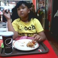 Photo taken at KFC Harco Mangga Dua by Ahmad M. on 4/6/2014