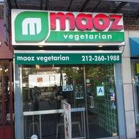 Photo taken at Maoz Vegetarian by Michal K. on 8/10/2013