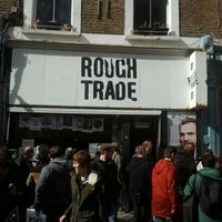 Photo taken at Rough Trade Records (West) by Stefano S. on 4/19/2014