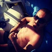 Photo taken at Bodrum Beyaz Beach Club by Harun 34 on 7/30/2014