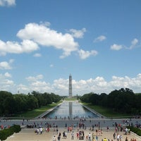 Photo taken at Lincoln Memorial by Sean A. on 7/5/2013