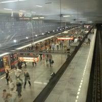 Photo taken at Metro =A= =C= Muzeum by Tigra . on 4/27/2012