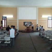 Photo taken at Iglesia Bautista Central by Pedro B. on 3/18/2012