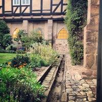Photo taken at Hotel Kloster Haydau by Julia M. on 8/31/2013