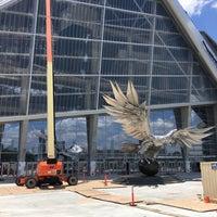 6/9/2017 tarihinde Jac B.ziyaretçi tarafından Mercedes-Benz Stadium'de çekilen fotoğraf