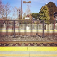 Photo taken at California Ave Caltrain Station by Jack C. on 1/19/2013