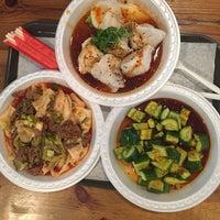 3/21/2016 tarihinde Rachel S.ziyaretçi tarafından Xi'an Famous Foods'de çekilen fotoğraf