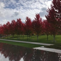 Photo taken at Lakewood Cemetery by Lisa D. on 10/15/2017