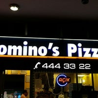 6/8/2013 tarihinde Ebru K.ziyaretçi tarafından Domino's Pizza'de çekilen fotoğraf
