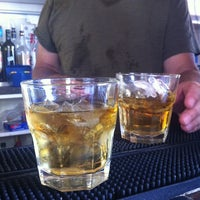 Photo taken at Tiniest Bar In Texas by Sabrina C. on 7/25/2013