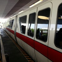 Photo taken at Monorail Red by Josh L. on 4/13/2013