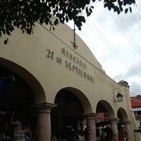 Photo taken at Mercado 27 de Septiembre by Juan Manuel O. on 9/15/2013