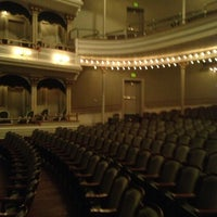 Photo taken at Springer Opera House by Apryl T. on 11/8/2012