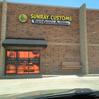 Photo taken at Sunray Glass Tinting And Custom Graphics by Kristin G. on 6/8/2013