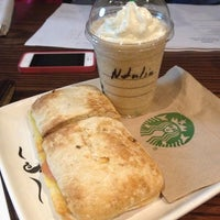 Photo taken at Starbucks by Natalia C. on 8/7/2013
