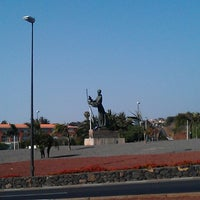 Photo taken at Monumento al Padre Anchieta by Francisco José P. on 7/12/2013