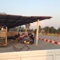 Photo taken at สนามแข่งรถสาธร by Jiraporn S. on 1/15/2013