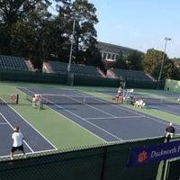 Photo taken at Hoke Sloan Tennis Center by Bushtik on 10/6/2013