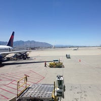 Photo taken at Concourse D by Jennifer K. on 6/21/2016