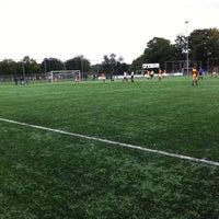 Photo taken at Christelijke voetbalvereniging Achilles by Roland K. on 9/21/2013