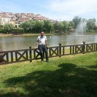 Photo taken at Bahcesehır gôlet by Bayram M. on 5/28/2013
